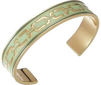 Marc Jacobs Double J Enamel Printed Chain Cuff Bracelet