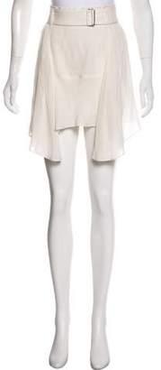 A.L.C. Belted Knee-Length Skirt