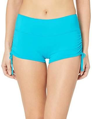 Beach House Women's Blake Adjustable Side Tie Boy Short Swimsuit Bottom