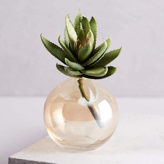 Faux Succulent Stem - Aloe