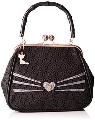 Lollipops Alphonse Small Frame, Women's Shoulder Bag, Noir (), 12x19x26 cm (W x H L)