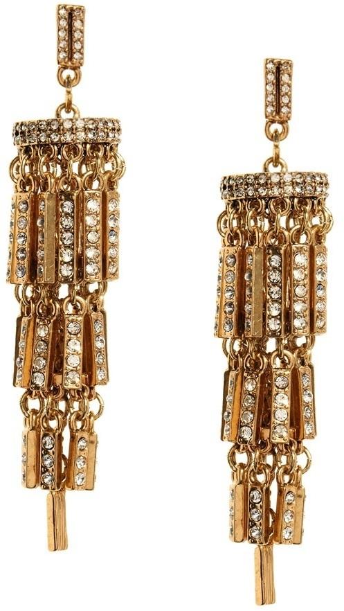 Asos Jewelled Chandelier Earrings