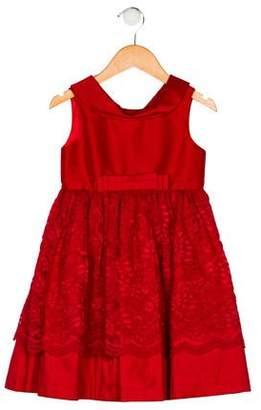 Luli & Me Girls' Lace Dress