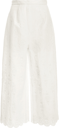 Zimmermann Valour broderie anglaise culottes $420 thestylecure.com