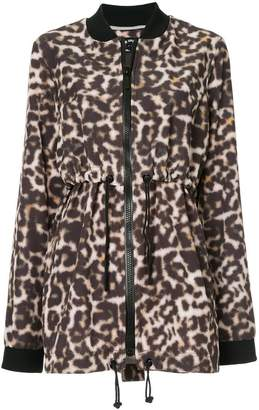 The Upside leopardprint drawstring jacket