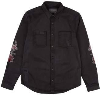 Burton Mens Voi Jeans Long Sleeve Snake Embroidered Shirt*