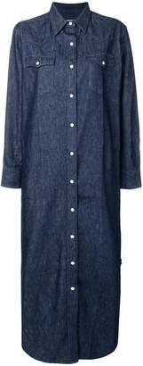 MAISON KITSUNÉ boxy shirt dress
