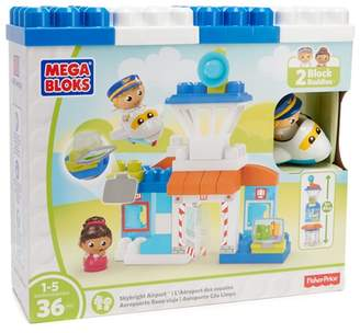 Mega Bloks MEGABLOKS Mega Blocks Skybright Airport Playset