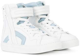 Pierre Hardy (ピエール アルディ) - Pierre Hardy touch strap high-top sneakers