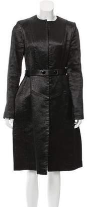 Honor Long Satin Coat