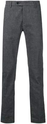 Al Duca D'Aosta 1902 melange knit style trousers