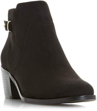 Head Over Heels Pascalle Buckle Strap Ankle Boots