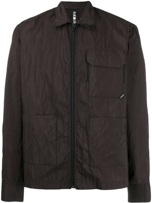 Raeburn zipped shirt jacket