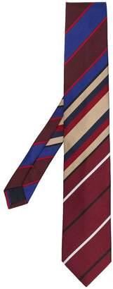 Prada diagonal striped tie