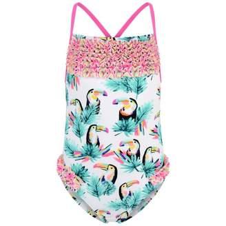Billieblush BillieblushGirls Toucan Print Swimsuit