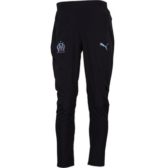 Mens Olympique Marseille Woven Track Pants Black
