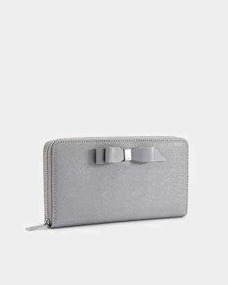 Ted Baker AINE Bow leather matinee purse