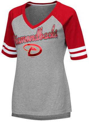 G-iii Sports Women's Arizona Diamondbacks Goal Line Raglan T-Shirt