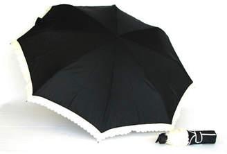 Mini umbrella with frill edge