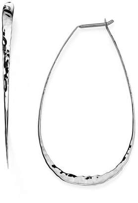 Bloomingdale's Sterling Silver Pear Hoop Earrings - 100% Exclusive