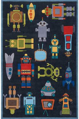 Momeni Lil Mo Robots Hand Tufted Rectangular Rugs
