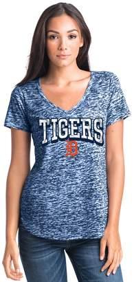 Women's Detroit Tigers Burnout Tee
