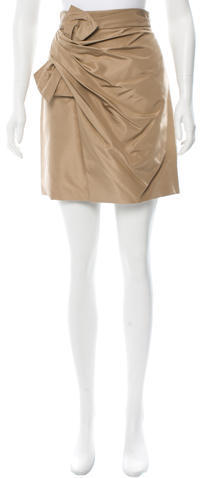 3.1 Phillip Lim 3.1 Phillip Lim Bow-Accented Mini Skirt w/ Tags