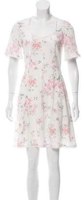 The Kooples Silk Short Sleeve Dress