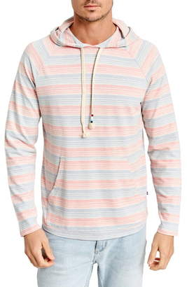 Sol Angeles Stripe Twill Pullover Hoodie