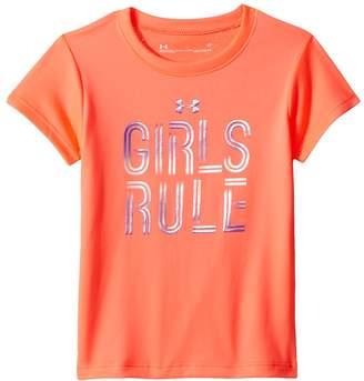 Under Armour Kids Girls Rule Short Sleeve Girl's Clothing