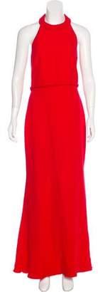 Valentino Silk Halter Gown