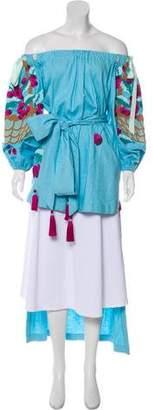 Yuliya Magdych Embroidered Tunic Top