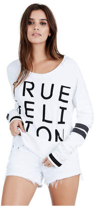 True Religion WOMENS EMBROIDERED TRUE PULLOVER