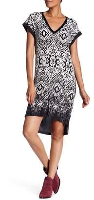 Go Silk go \u003E by GoSilk Deep V-Neck Hi-Lo Dress