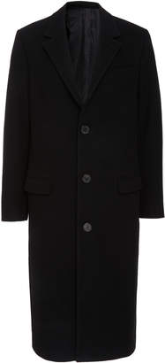 Ami Three-Button Overcoat