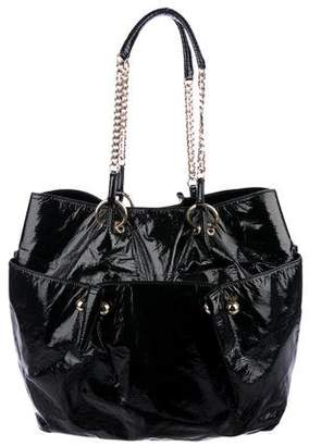 Stella McCartney Chain-Link Shoulder Tote