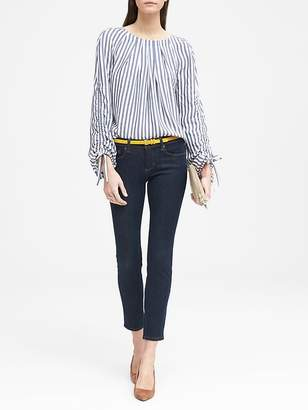 Banana Republic Skinny Zero Gravity Stay Blue Ankle Jean