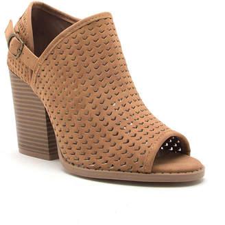 Qupid Womens Barnes 260ax Stacked Heel Buckle Booties