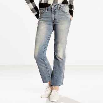 Women's Levi's Kick Flare-Leg Ankle Jeans $59.50 thestylecure.com