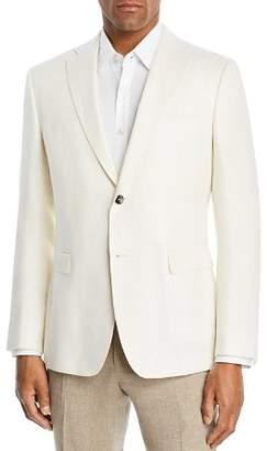 Ermenegildo Zegna Wool & Linen Textured Slim Fit Sport Coat