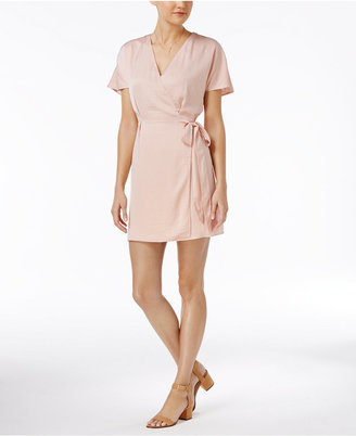 Bar III Faux-Wrap Dress, Only at Macy's $79.50 thestylecure.com