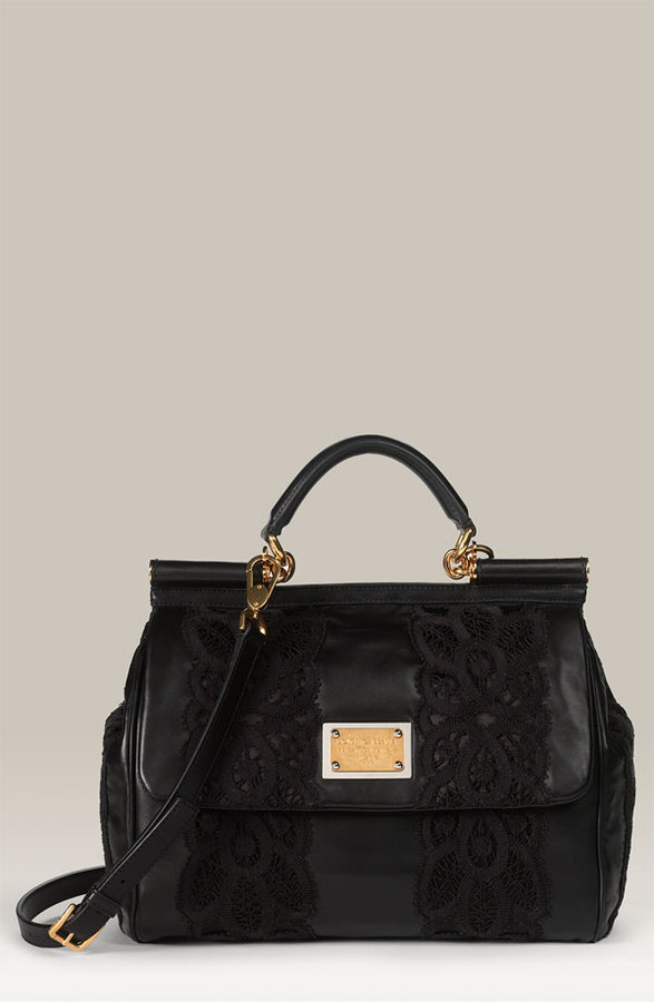 Dolce&Gabbana 'Miss Sicily with Lace' Satchel
