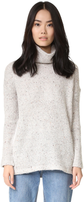 Splendid Cozy Double Knit Sweater $118 thestylecure.com