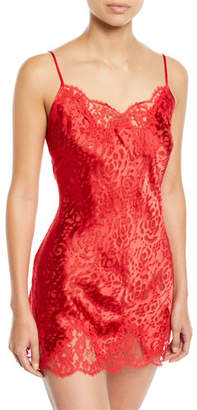 Lise Charmel Floral Lace Dressing Babydoll Chemise