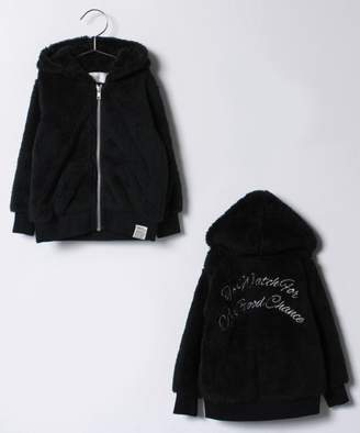 AZUL by moussy (アズール バイ マウジー) - AZUL BY MOUSSY 【セットアップ対応商品】BACK刺繍ボアパーカー