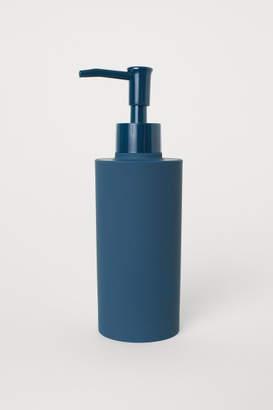 H&M Matte Plastic Soap Dispenser - Turquoise