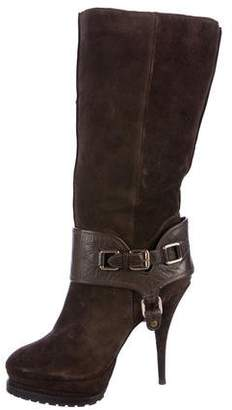 Elizabeth and James Must Shearling Boots