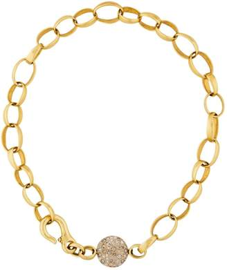 Pomellato Sabbia yellow gold necklace
