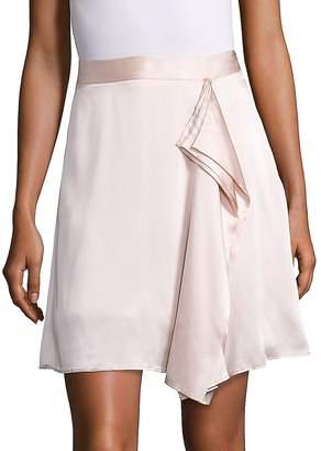 Public School Women's Gina Draped Silk Skirt