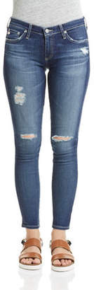 AG Jeans Destructed Ankle Jeggings
